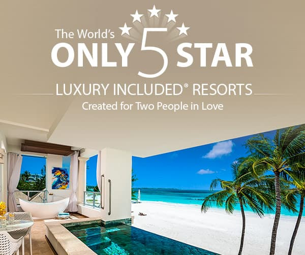 Sandals Only 5 Star
