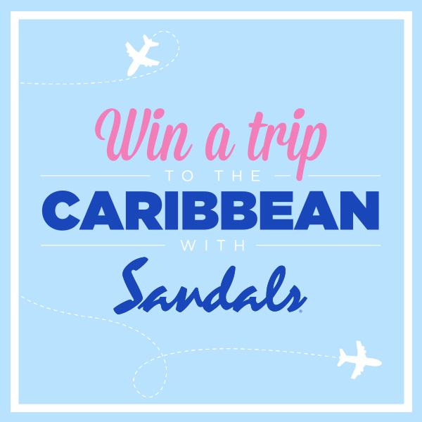 WIN A TRIP TO THE CARIBBEAN WITH SANDALS