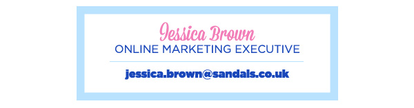 Jessica Brown Online Marketing Executive jessica.brown@sandals.co.uk