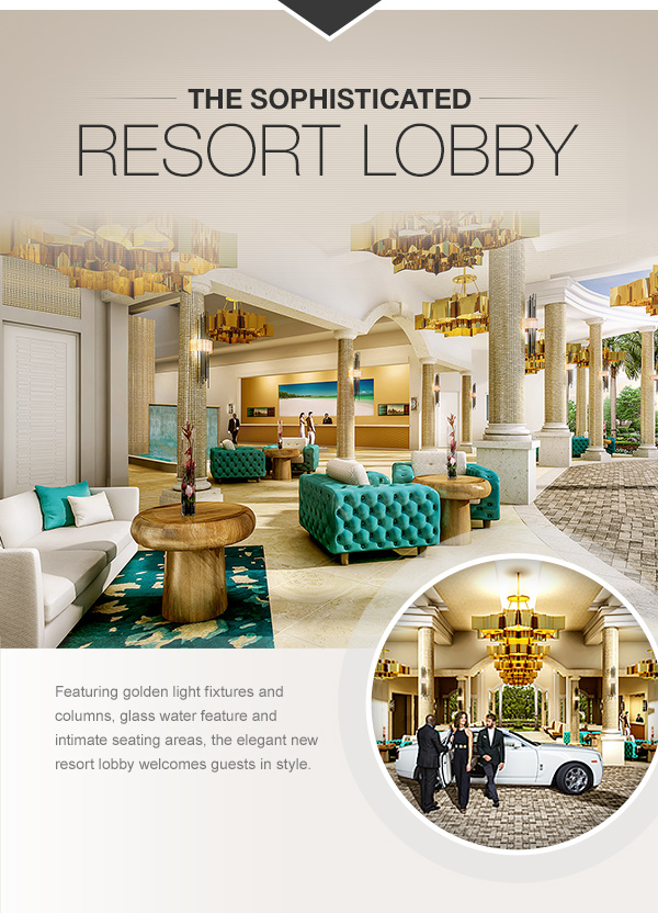 The Sophisticated Resort Lobby