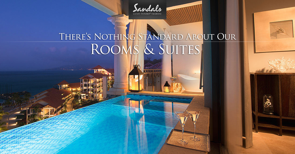 The Most Luxurious Caribbean Resort Accommodations Sandals