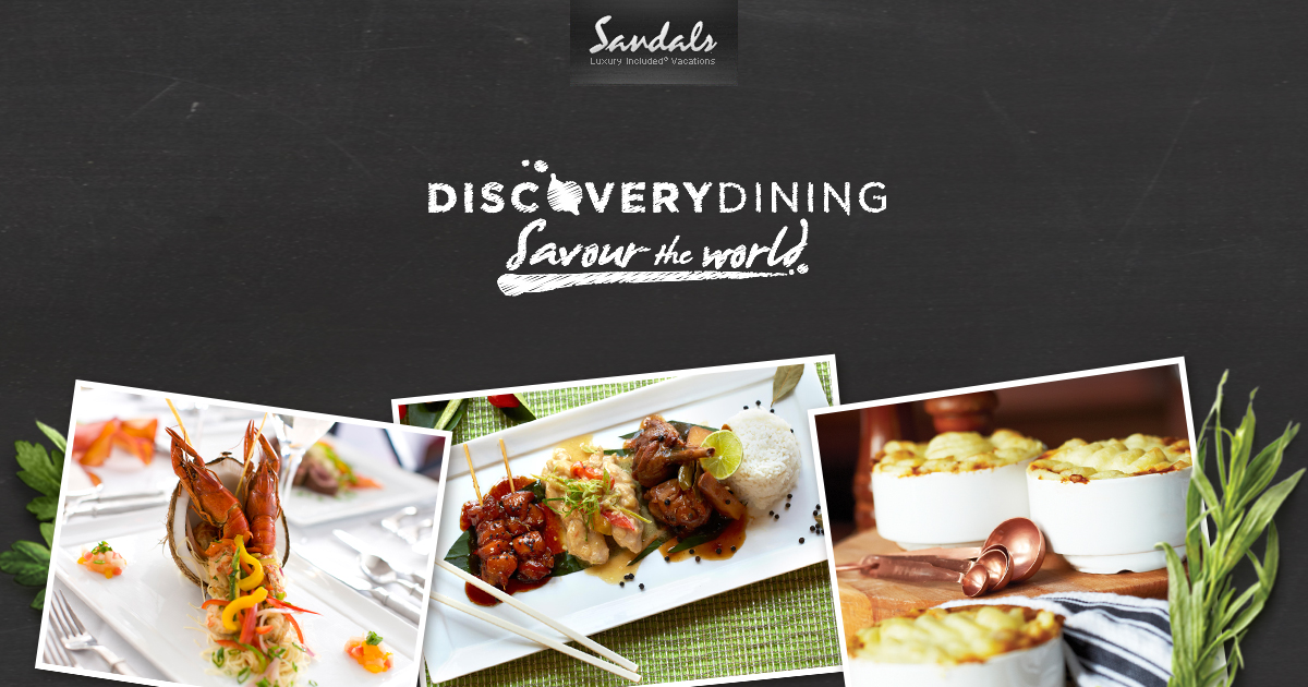 Amazing Gourmet Restaurants At Our All Inclusive Resorts Sandals Largest Home Design Picture Inspirations Pitcheantrous