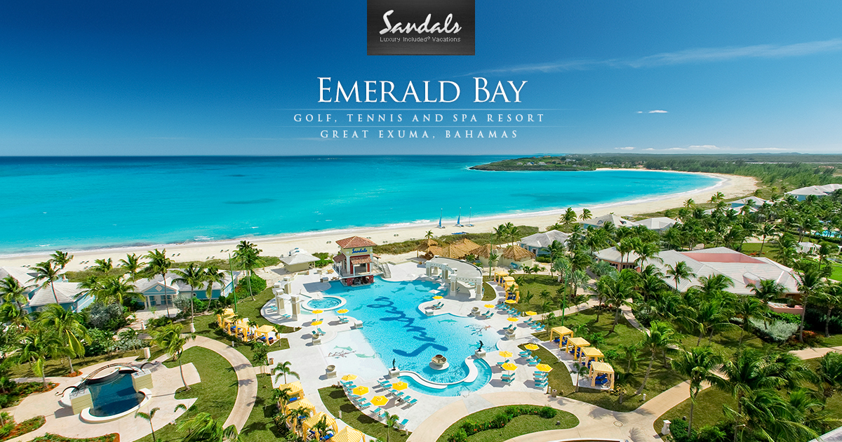 Sandals Emerald Bay Luxury Resort In The Bahamas Sandals