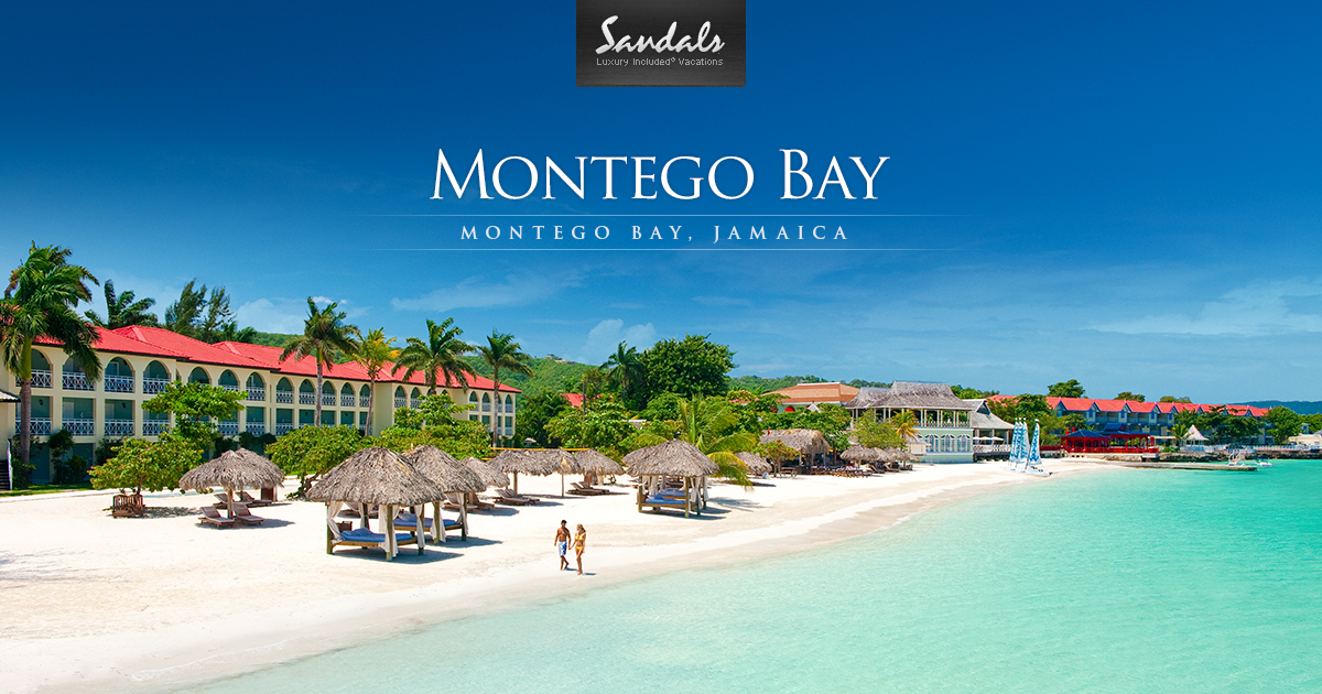 Sandals Montego Bay Luxury Resort In Montego Bay Jamaica