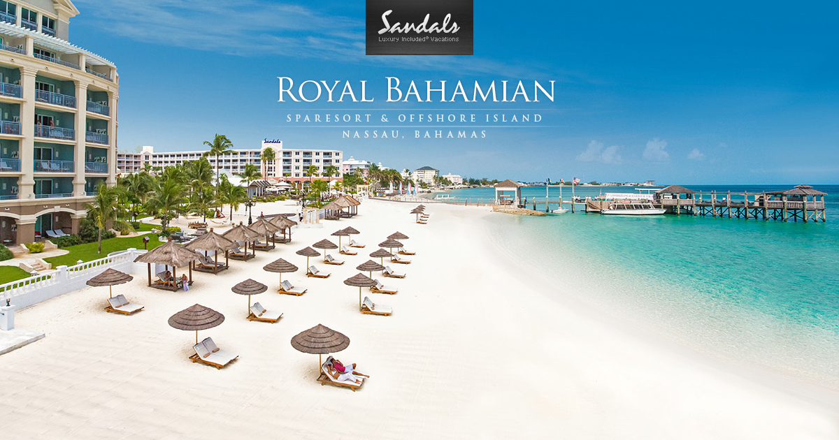 Sandals Royal Bahamian Spa Resort Amp Offshore Island