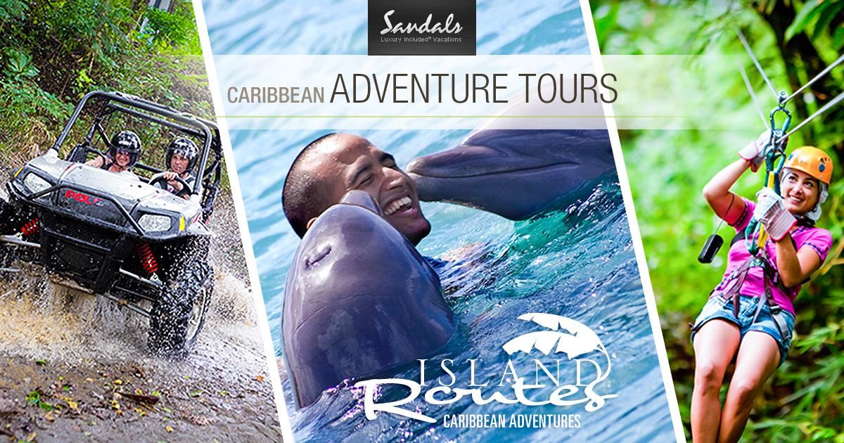 Island Adventure Tours Amp Caribbean Excursions Sandalsa