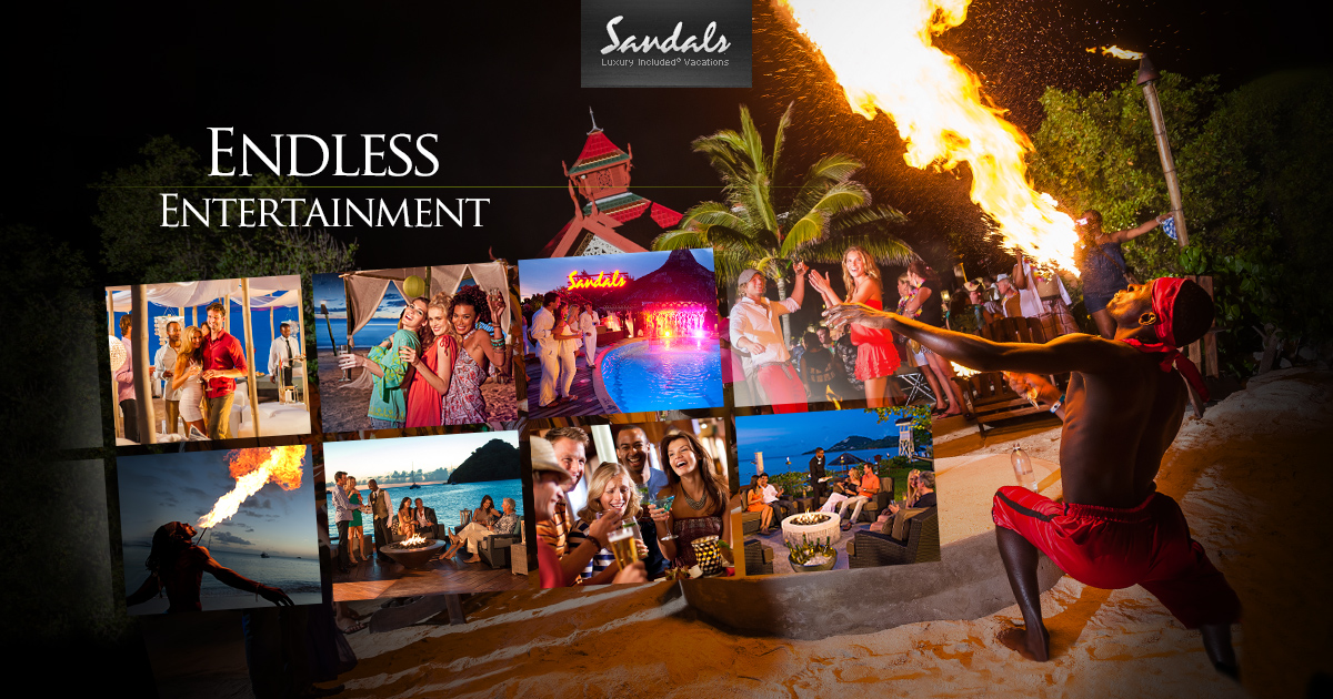 Caribbean Night Clubs Amp Entertainment Sandals