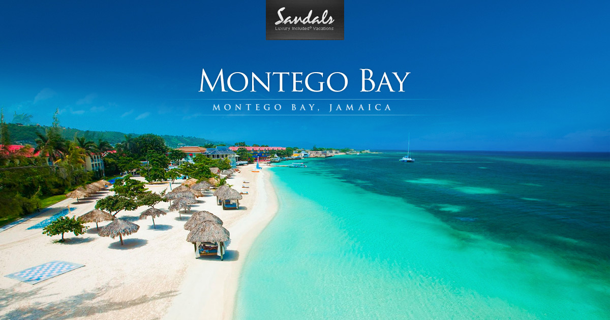 Sandals Montego Bay Luxury Resort In Montego Bay Jamaica Sandals